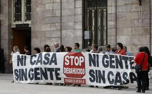 La PAH convoca para el sábado una protesta en Santander contra la decisión del Supremo sobre las hipotecas