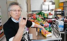El gesto de una monja de Oviedo que molesta a la extrema derecha