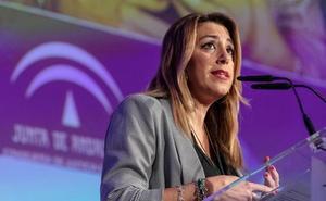 Susana Díaz en el Senado: «No hay ninguna causa en Andalucía que vincule al PSOE con financiación irregular»