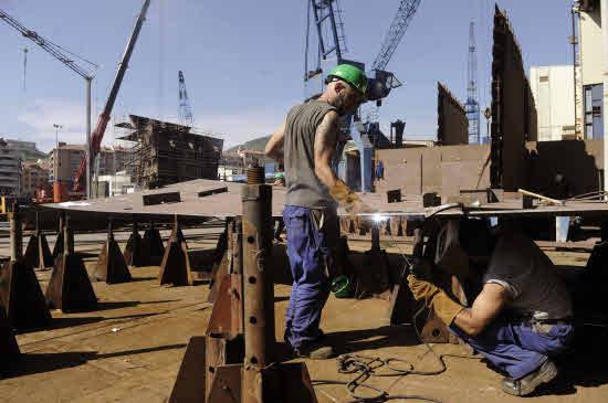 La mitad de los trabajadores españoles gana menos de 19.100 euros brutos al año
