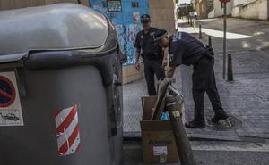 23 denuncias en cuatro meses por dejar la basura fuera de los contenedores