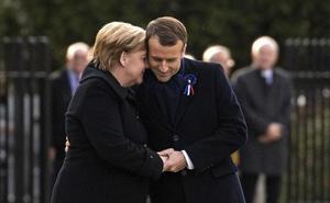 Macron y Merkel simbolizan la reconciliación histórica entre Francia y Alemania