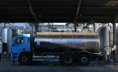Nestlé recoge cerca de 180 millones de leche en la Cornisa Cantábrica