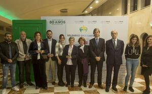 La ONCE premia la solidaridad de la sociedad cántabra