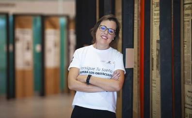 Blanca Ruiz: «En el Aneto estuve más cerca que nunca de mi donante»