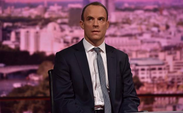 Dominic Raab. /Reuters