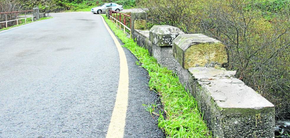 Los ladrones de piedras se ceban con los puentes de Estacas de Trueba