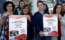 'Zapatos rojos' para recordar a las víctimas de la violencia machista en Puente San Miguel