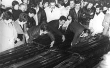 Liermo: asesinato en masa por una tira de tierra