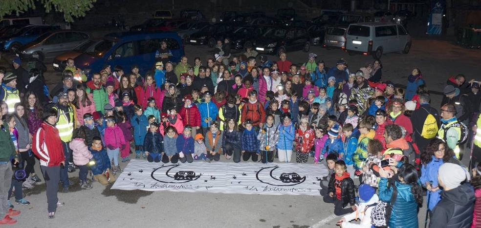 Más de 500 participantes celebraron la séptima edición de la Trotabúhos