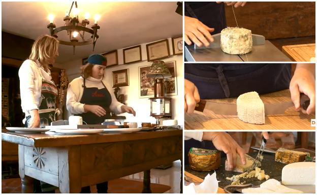 ¿Sabes cómo cortar bien el queso?