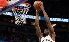 Ibaka brilla en la victoria de los Raptors ante los Magic
