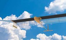 Logran hacer volar un avión sin hélices ni combustible