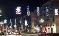 Santander saludará el viernes a la Navidad con el encendido de luces