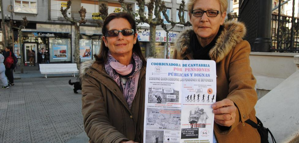 «Los pensionistas no vamos a parar hasta conseguir nuestras reivindicaciones»