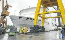 Astander reforma el 'Pont Aven', el buque insignia de Brittany Ferries