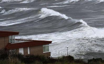 Cantabria estará este jueves en alerta amarilla por vientos de hasta 90 km/h y fuerte oleaje