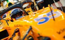 Maratón de Sainz para estrenarse con McLaren