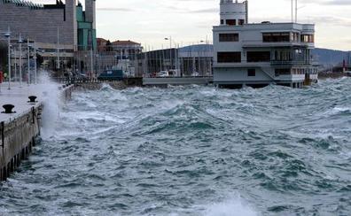 El temporal de viento deja rachas de 105 kilómetros por hora en Alto Campoo