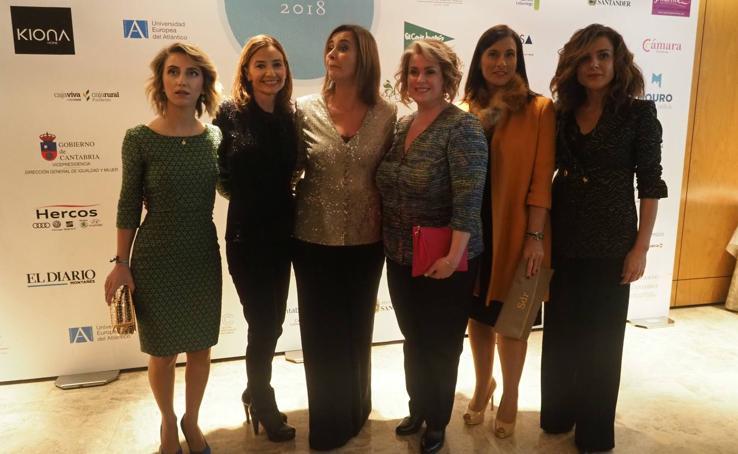 Acto de entrega del premio Empresaria del Año 2018 a Maite Rodríguez