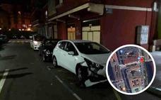Localizado el Torrelavega el vehículo que chocó contra varios coches y se dio a la fuga en Muriedas