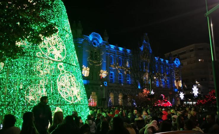 Santander enciende las luces de Navidad