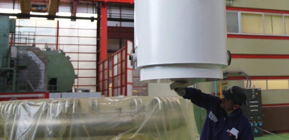 Ensa participa en unas pruebas con una maqueta de su contenedor en Alemania