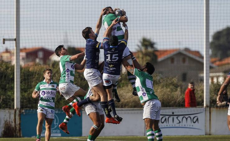 Derrota del Aldro Independiente ante el VRAC (22-28) en un partido de rugby vibrante
