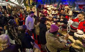 El mercado de Navidad de Santander abre sus puertas el miércoles con 70 puestos