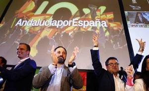 Euforia en Vox: «Hemos hecho historia»