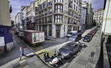 La calle Gravina será la futura antesala de entrada a la Biblioteca y al Museo