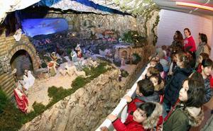 Once nacimientos componen este año la Ruta de los Belenes de Torrelavega