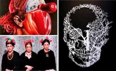 El arte se detiene en el cuerpo humano