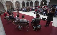 El Parlamento de Cantabria celebra el Día Internacional y Europeo de las personas con discapacidad