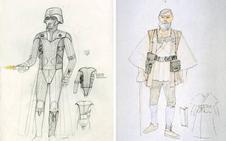 Así nacieron los personajes de 'Star Wars'