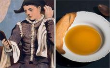 El 'Arlequín con espejo' de Picasso sabe a sopa de cocido con morcilla para Jesús Sánchez