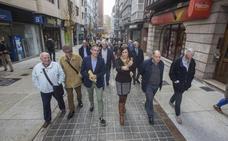 Abre la calle Cervantes para los peatones