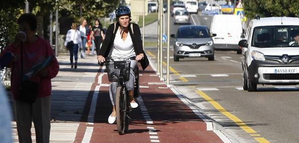 Vía libre al carril bici en Torrelavega