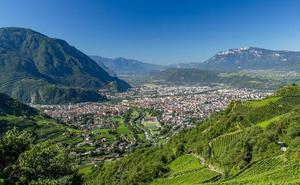 Bolzano, un entorno sin igual entre las cumbres alpinas del Tirol del Sur