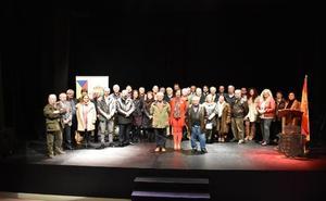 Los concejales de la democracia en Los Corrales rinden homenaje a la Constitución Española