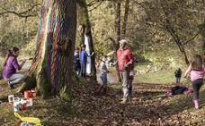 Cicero convierte sus árboles en arte