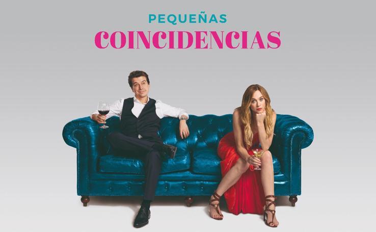 Marta Hazas y Javier Veiga te invitan a descubrir su nueva serie, 'Pequeñas Coincidencias'