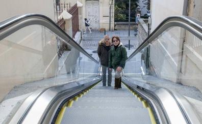 Las rampas y escaleras unen ya el Paseo de Pereda con General Dávila