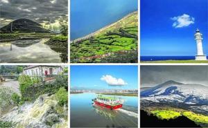 Un año en doce paisajes