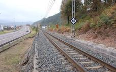 Un hombre resulta herido grave al ser atropellado por un tren en Ontoria