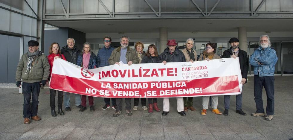 'Cantabria por lo público' denuncia la falta de información con las listas de espera en la sanidad cántabra