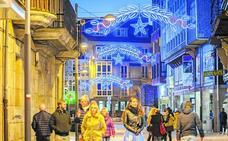 Luces para celebrar la Navidad en Reinosa