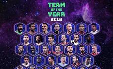 La Liga, protagonista de los candidatos al equipo del año de la UEFA