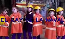 Escolares de Reinosa convierten en viral su rap para 'La Naval'