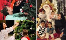 Los famosos ya han decorado su árbol de Navidad